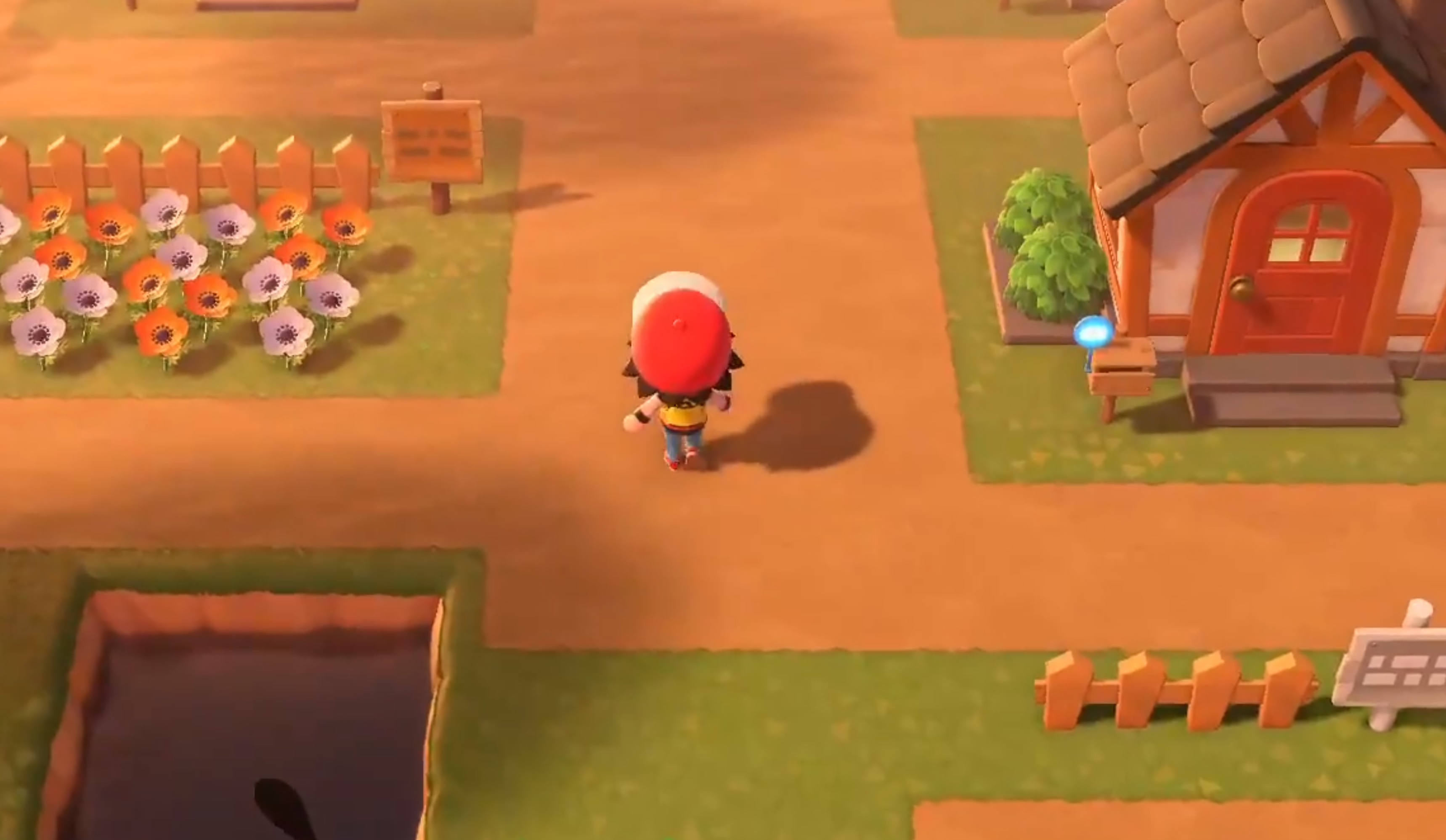Sure, I'd live in an Animal Crossing version of Pokemon's Palette Town screenshot
