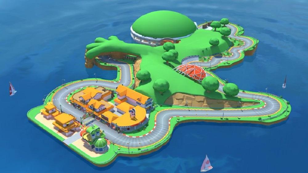 Take a whiz around Yoshi's Island (not that one) in Mario Kart Tour today screenshot