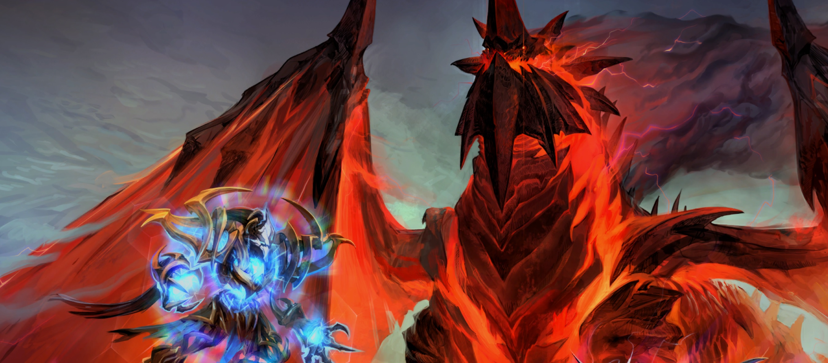 Big changes are coming to Heroes of the Storm, heralded by a badass Deathwing skin and a Tasaddar rework screenshot
