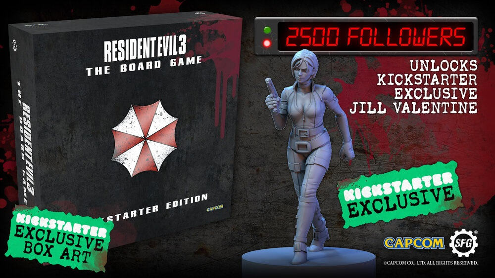 Resident Evil 3 board game begins crowdfunding later this month screenshot