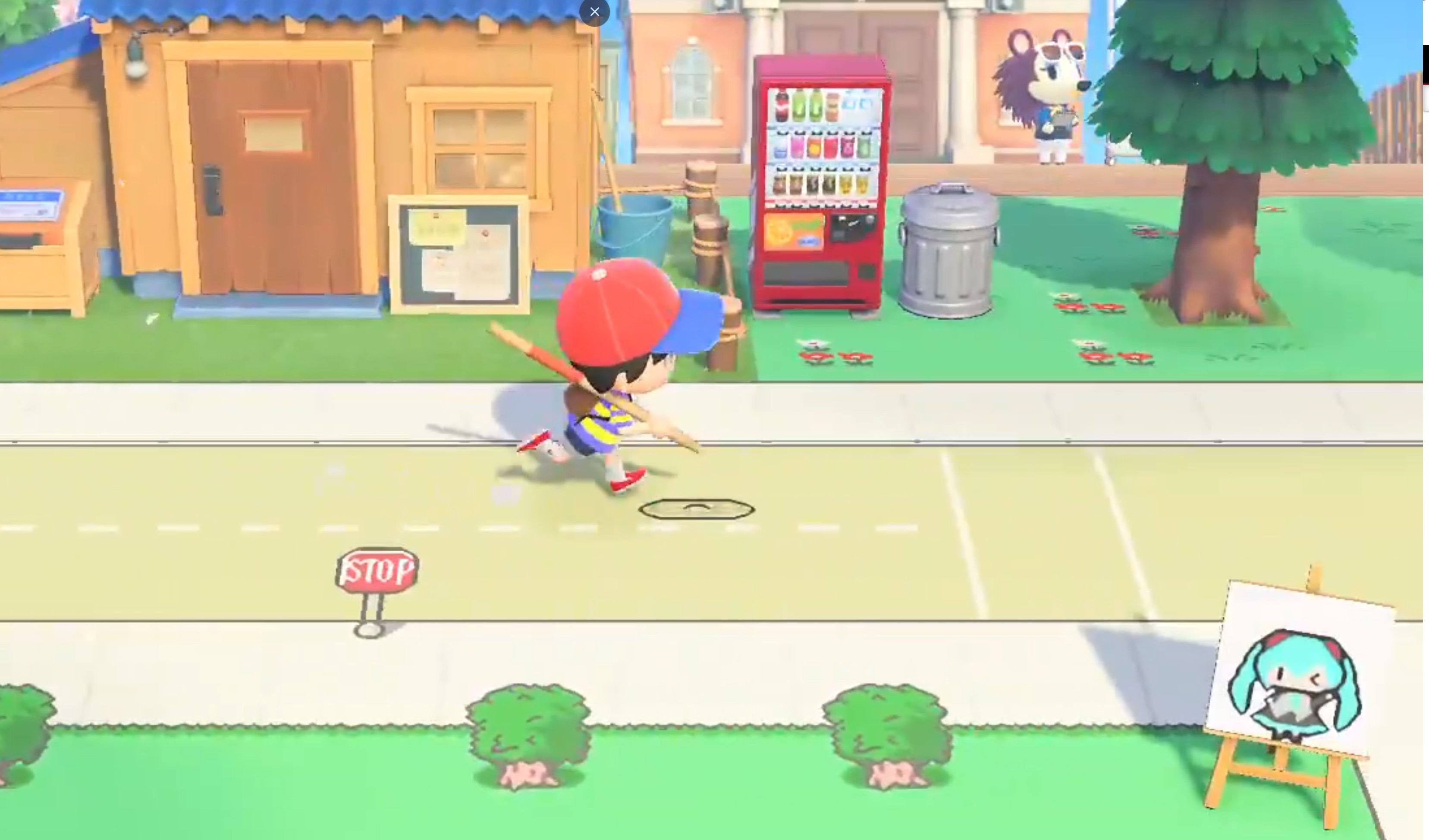 This Earthbound recreation in Animal Crossing: New Horizons looks incredible screenshot