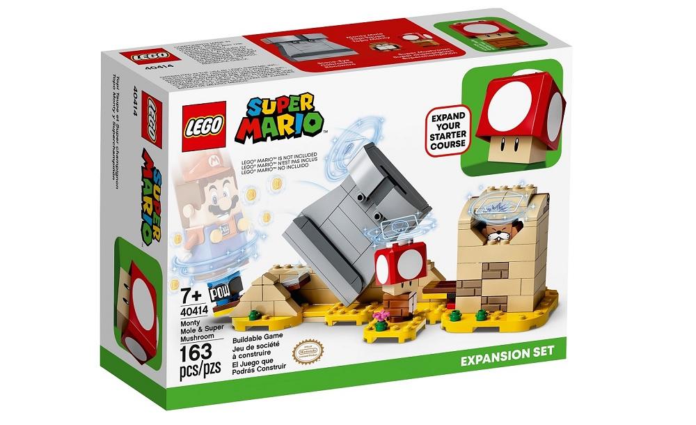 Lego Super Mario pre-orders will receive bonus 'Super Mushroom' set screenshot