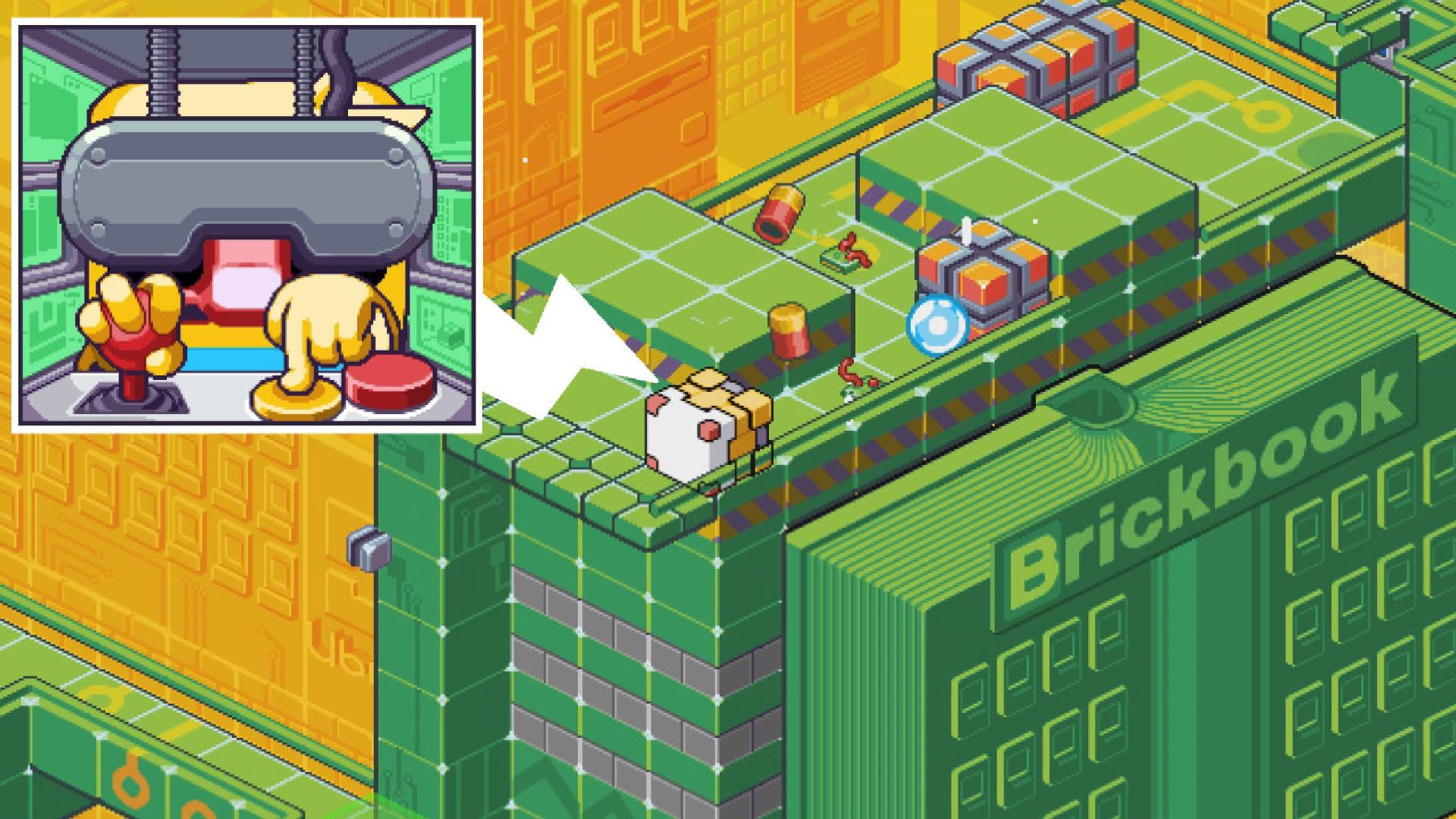 Nintendo Download: Gunbrick: Reloaded screenshot