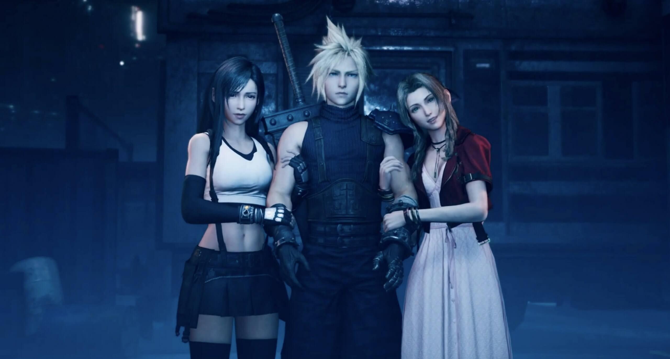 إعادة تصميم Final Fantasy VII Hub 1