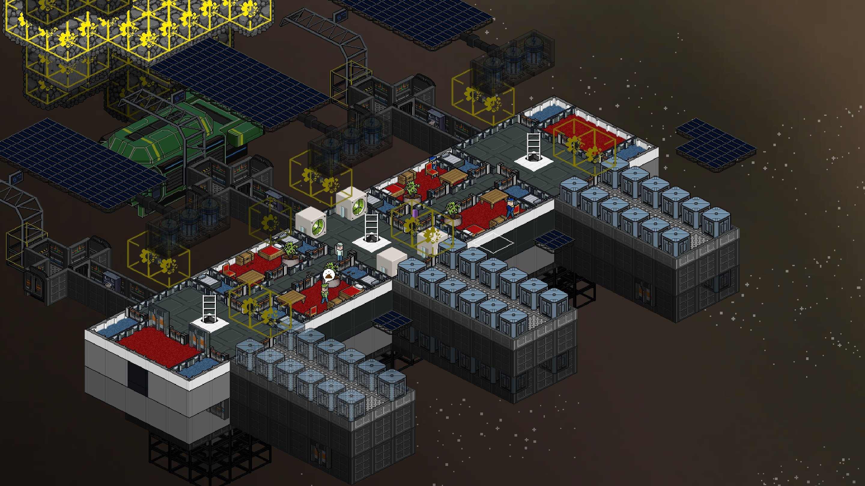 Contest: Escape the perils of Earth with a Steam copy of space sim Meeple Station screenshot