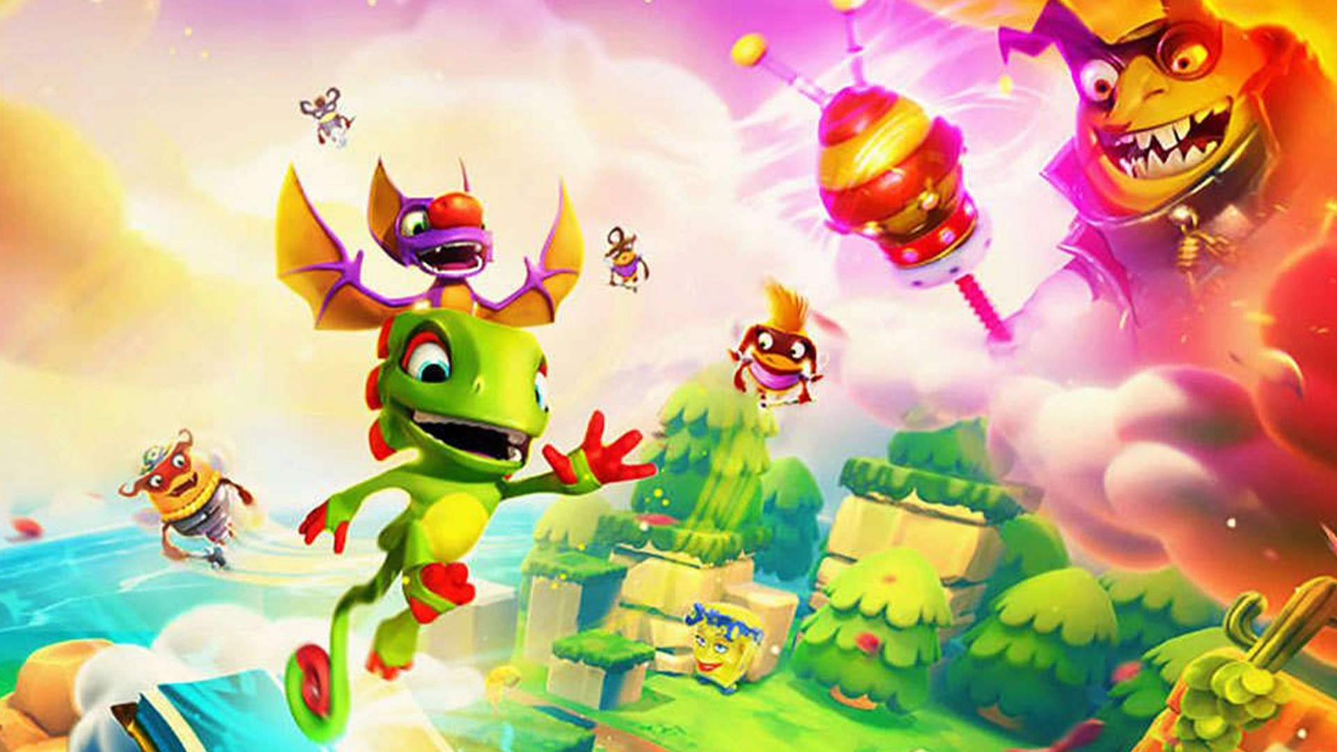 Yooka-Laylee and the Impossible Lair gets a lot less impossible soon screenshot