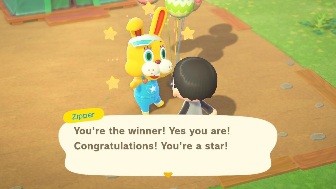 Did you finish Bunny Day in Animal Crossing: New Horizons? screenshot