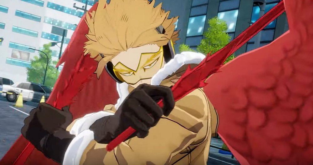 My Hero One's Justice 2 drops teaser trailer for Hawks screenshot
