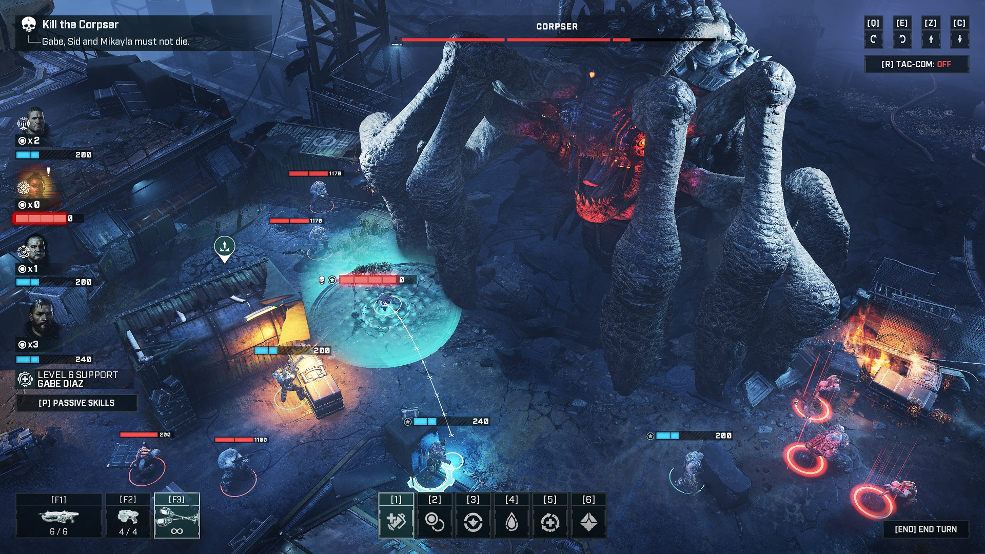 Gears Tactics just might end up as a great Gears game AND a great strategy game screenshot