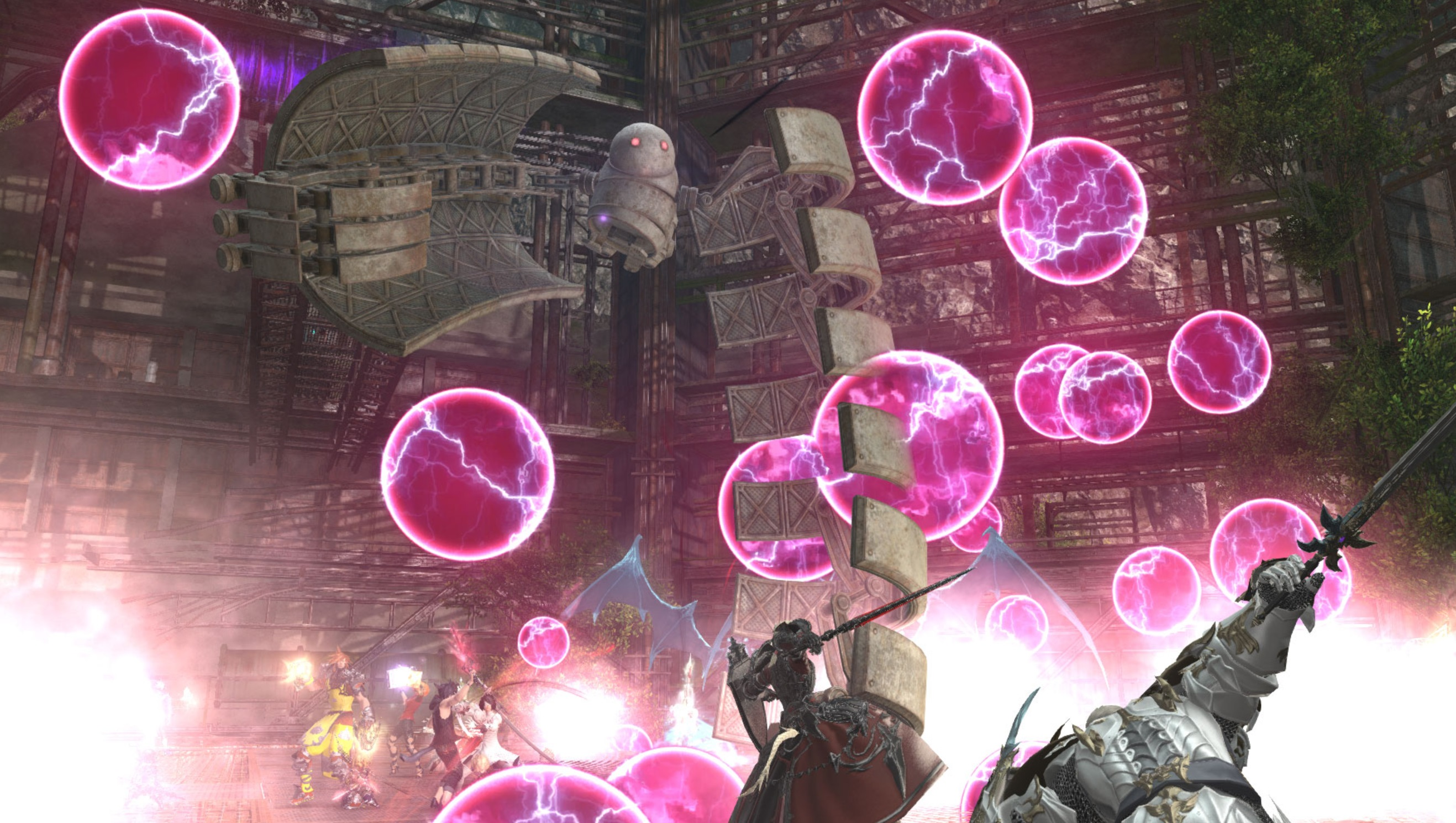 Final Fantasy XIV's huge 5.3 patch, which has more NieR content, delayed 'two weeks to a month' screenshot