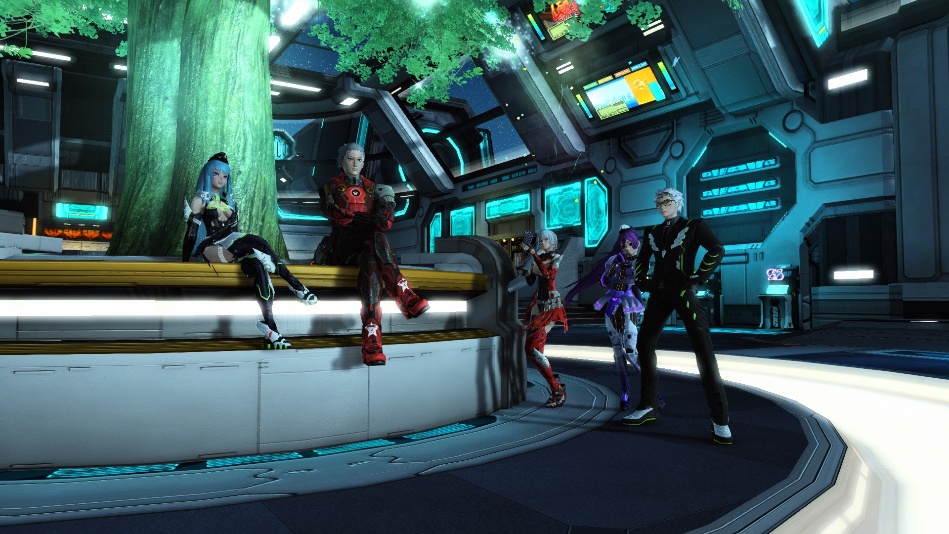 Phantasy Star Online 2 is out on Xbox One NOW, PC version announced for May screenshot