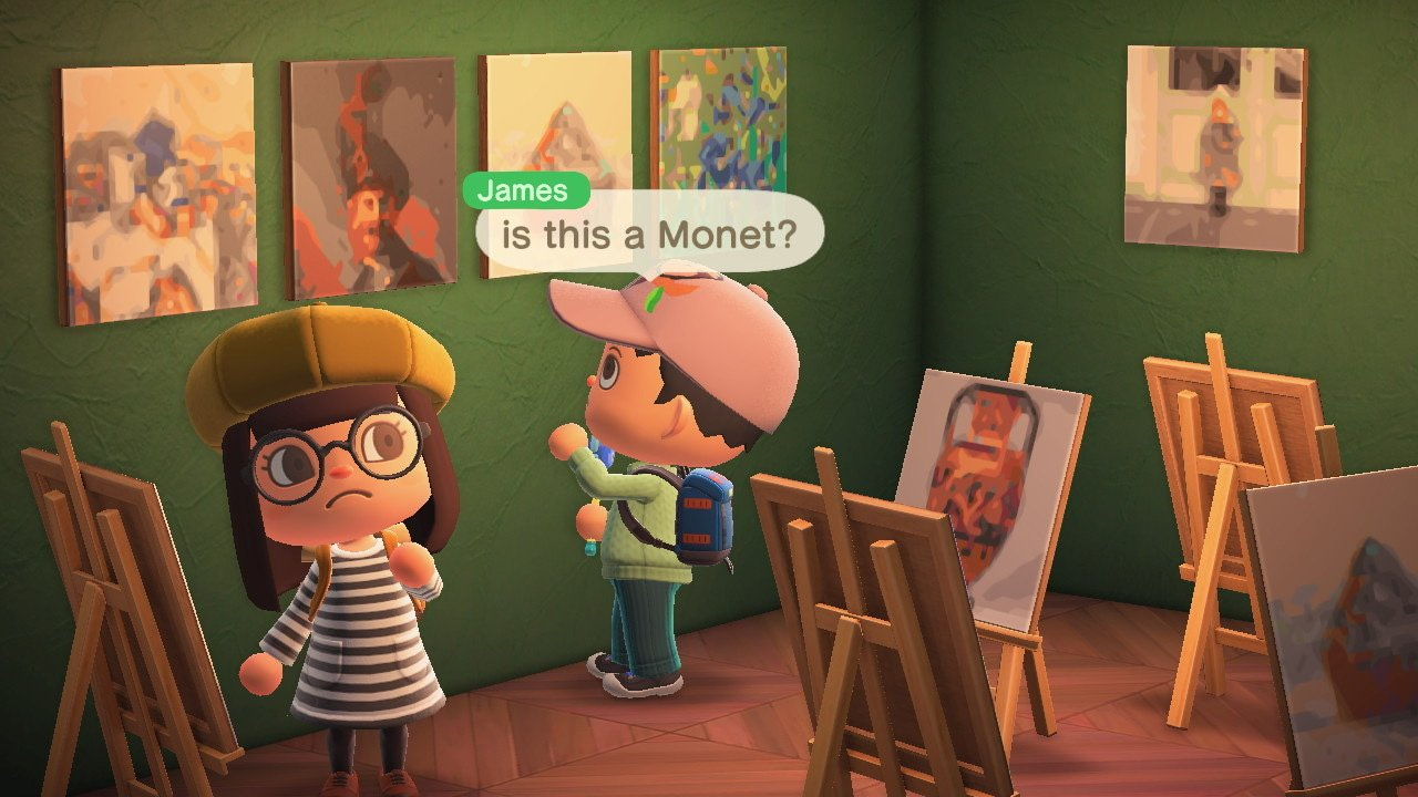 Add classic art to Animal Crossing: New Horizons with this neat tool from Getty screenshot