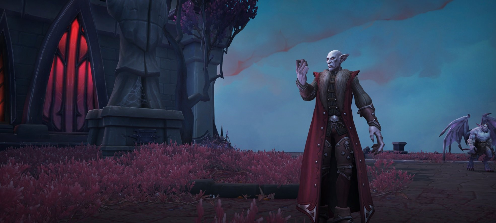 Blizzard is pulling the curtain back on World of Warcraft: Shadowlands as it enters a closed alpha stage screenshot
