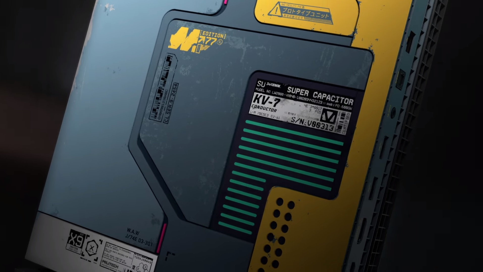 Cyberpunk 2077 ARG sleuths confirmed the limited edition Xbox One X three days early screenshot