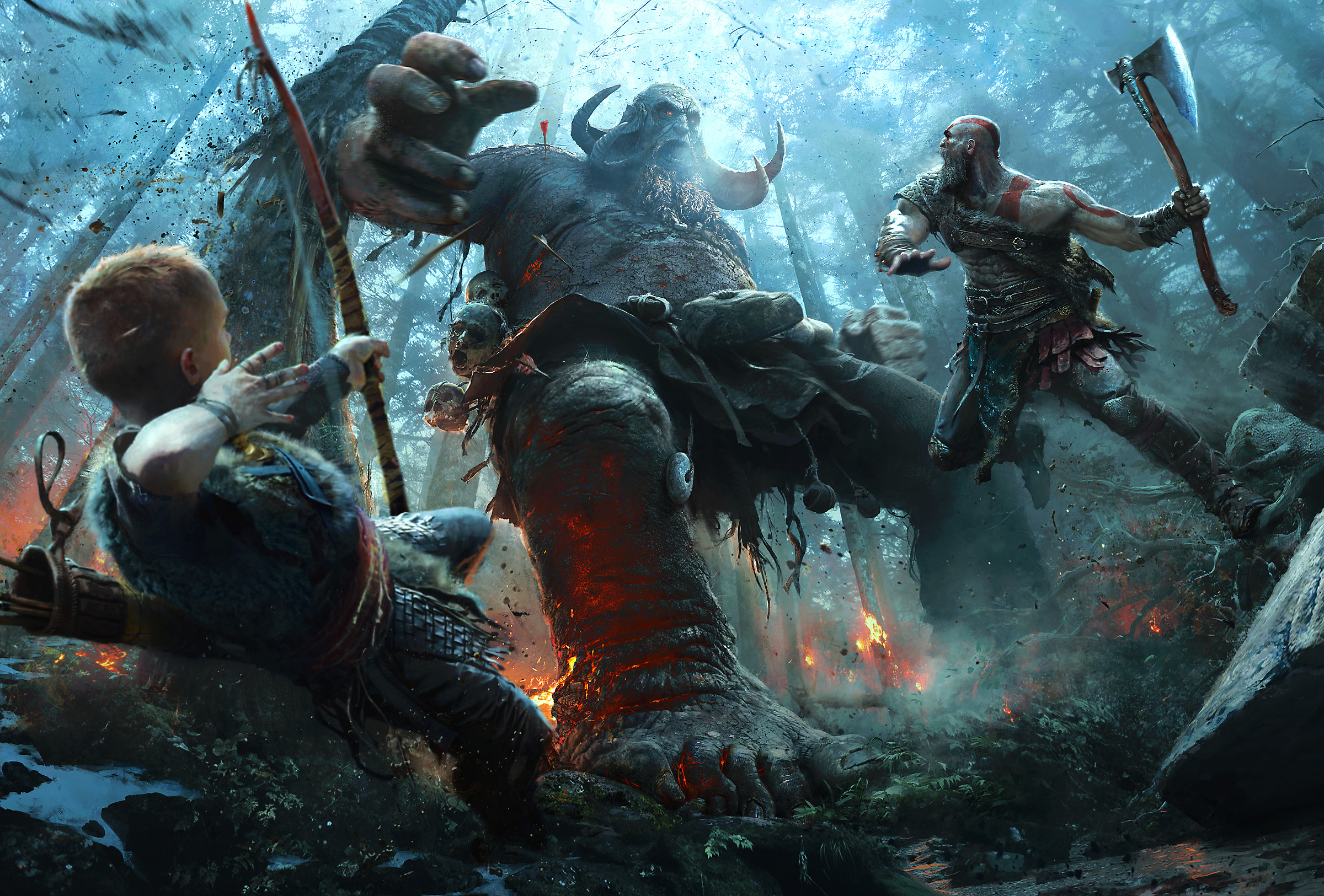 This new God of War book is all from the son's perspective screenshot