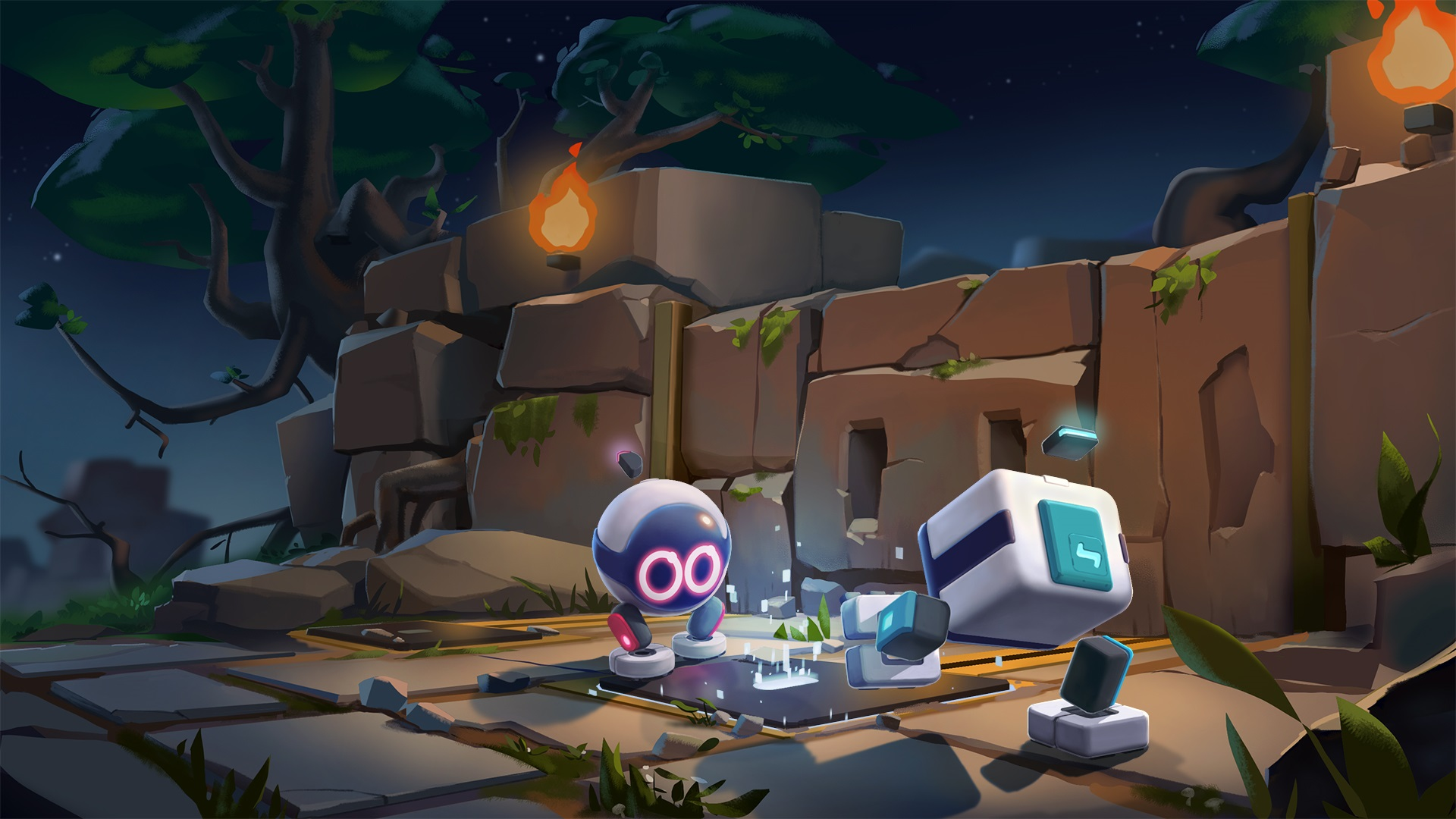 Contest: Win a copy of co-op puzzler Biped for PS4 or Steam screenshot