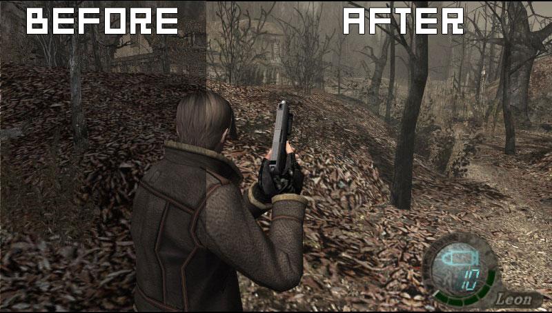 Управление мышкой в Resident Evil 4. песня цветы под снегом долина.