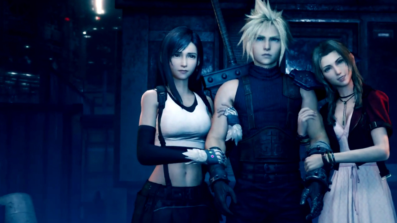 Why is everyone so thirsty in the Final Fantasy VII Remake? screenshot