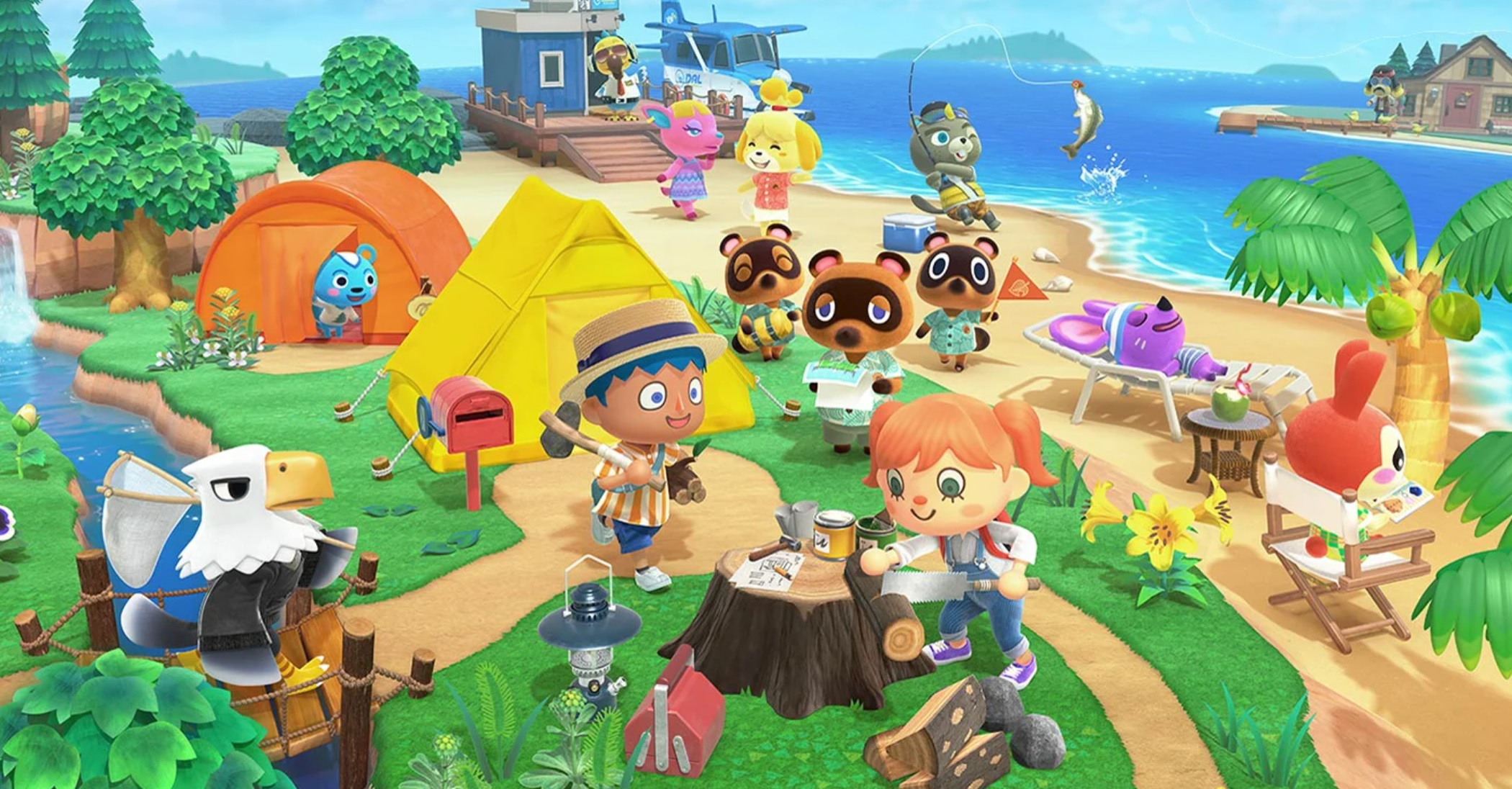 Nintendo, drop the act and add cloud saving to Animal Crossing: New Horizons screenshot