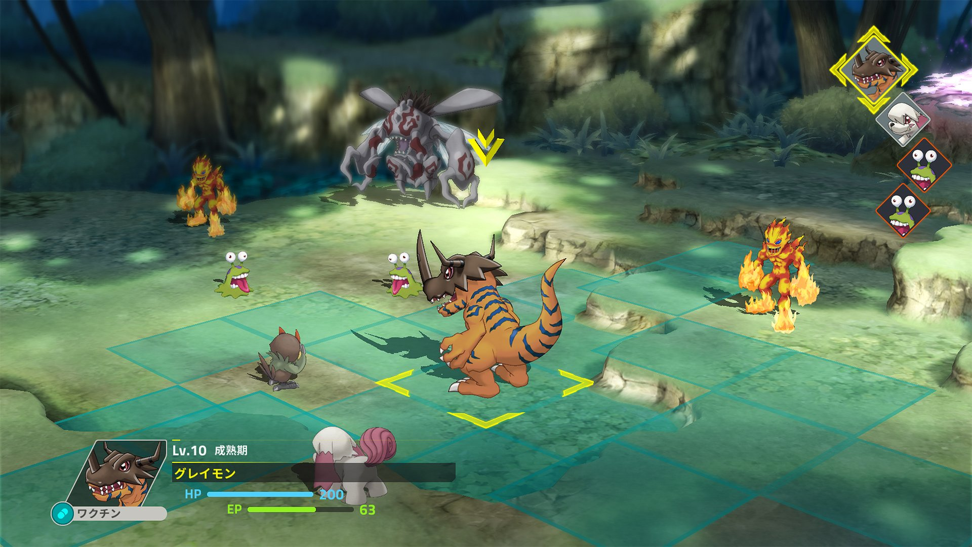 Don't worry, the Digimon tactics game hasn't been delayed again screenshot