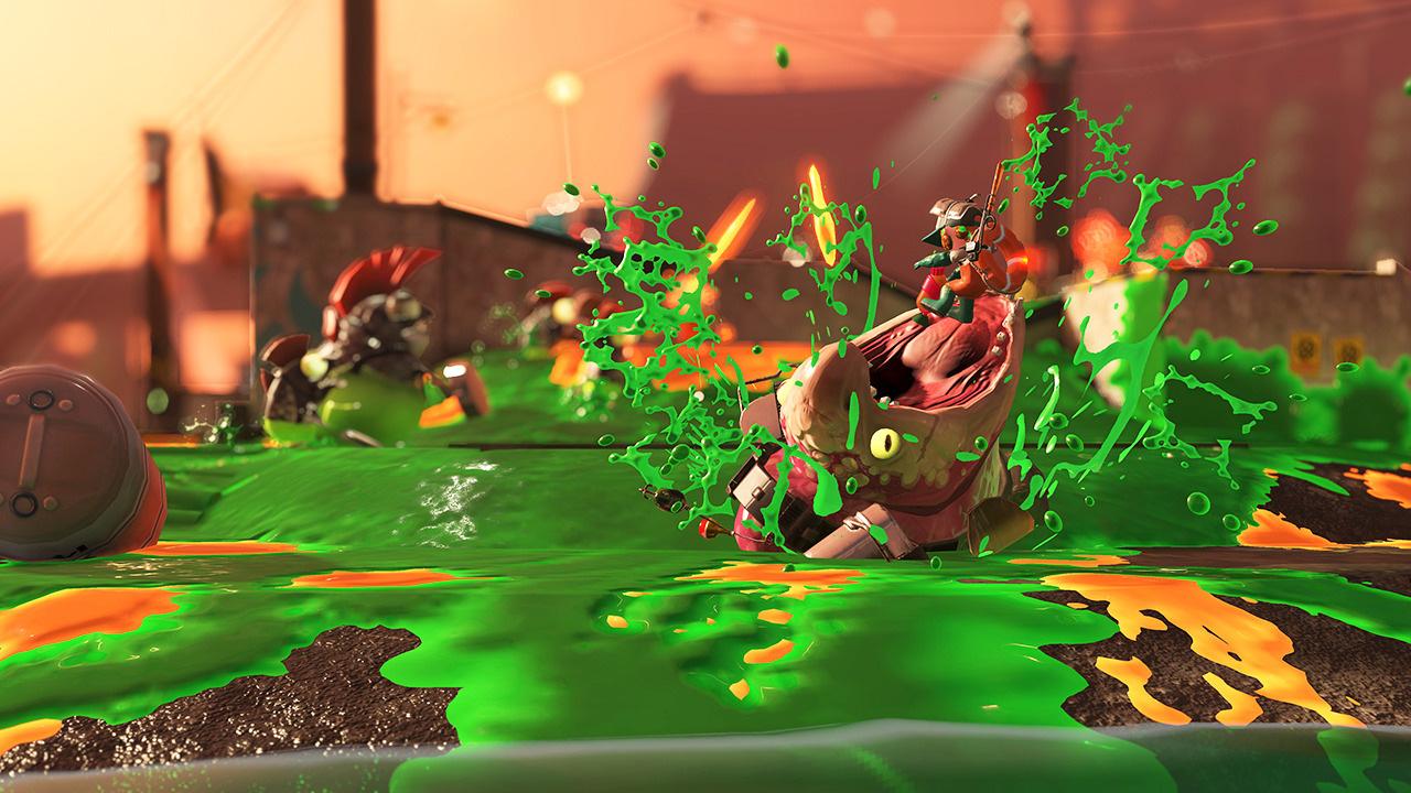 Splatoon 2's resurgence also includes a week-long demo screenshot