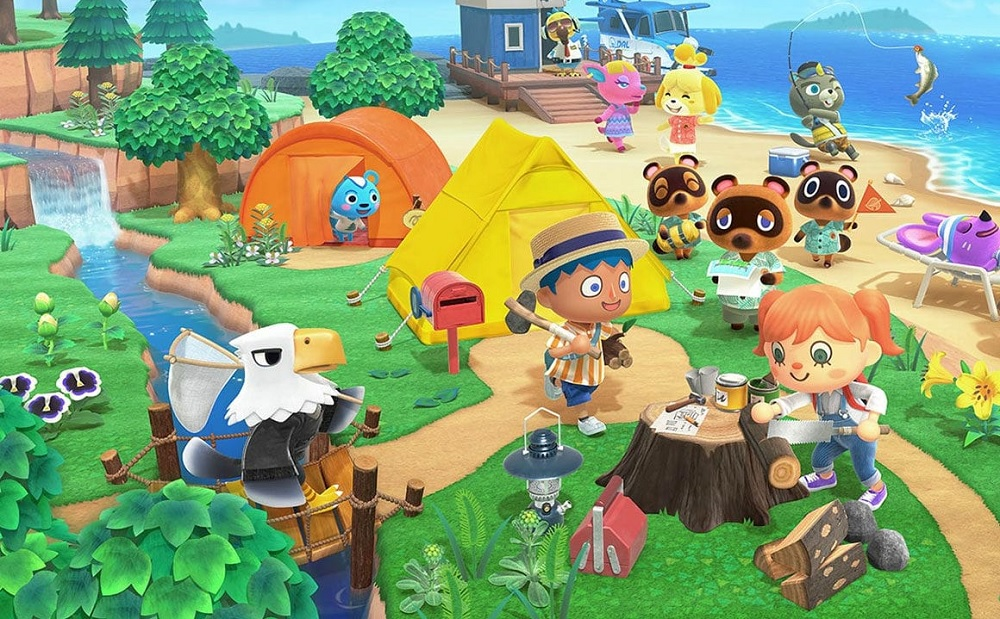 Animal Crossing: New Horizons sold an estimated five million digital copies in its first month screenshot