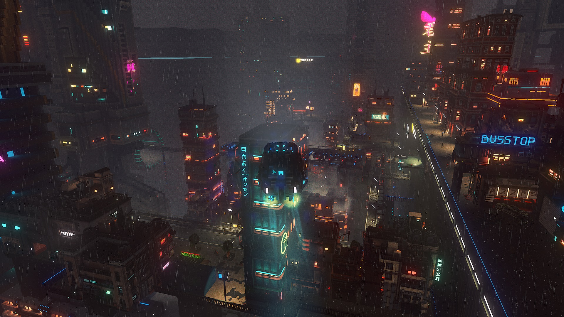 Contest: Explore the skies of the dystopian future in a Steam copy of Cloudpunk screenshot