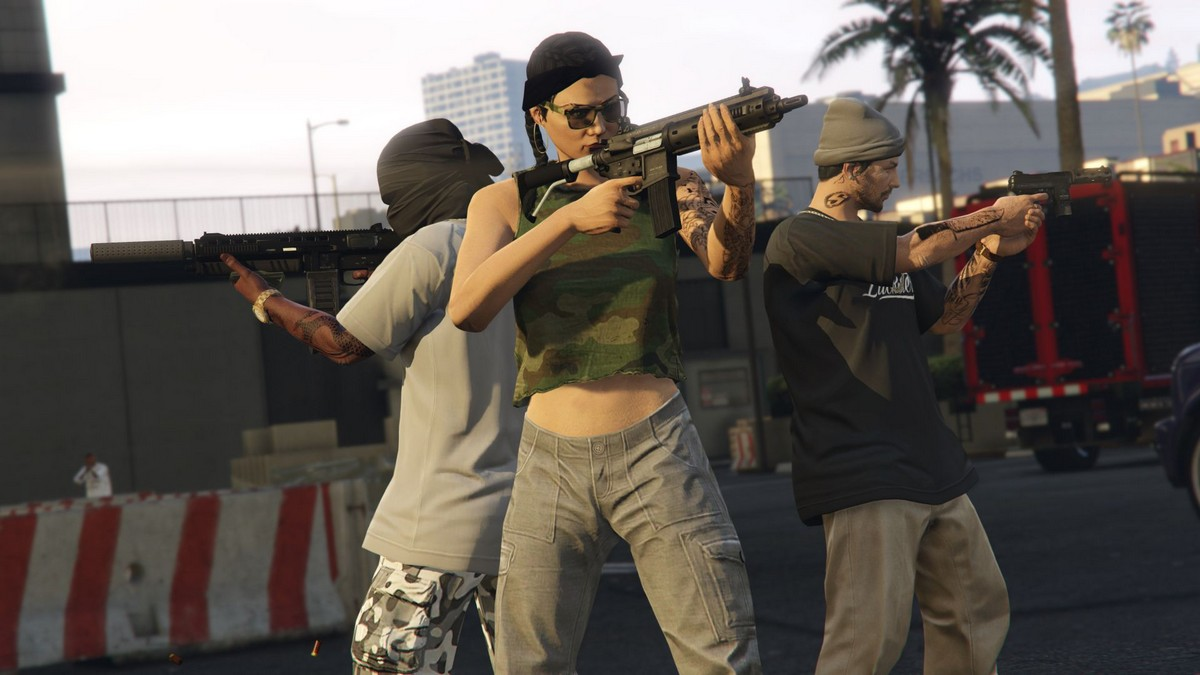 GTA Online is giving out big XP and money boosts for helping out Gerald screenshot