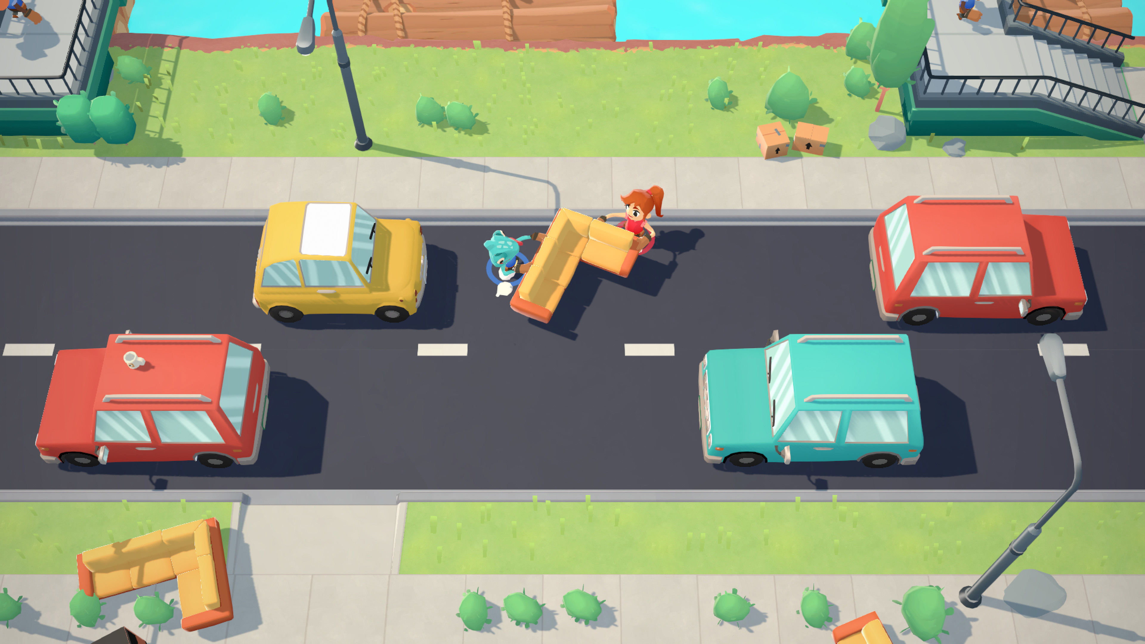 Review: Moving Out screenshot