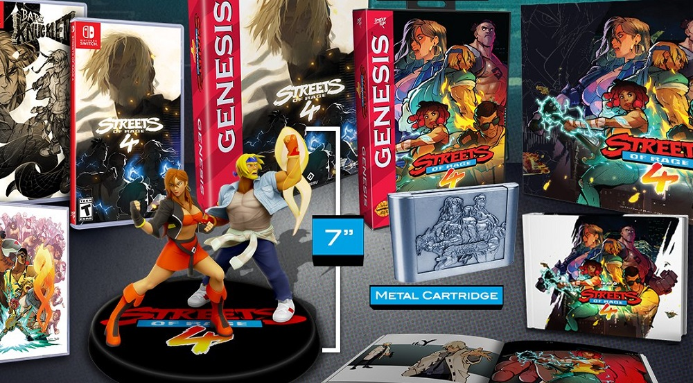Streets of Rage 4 Limited Collector's Edition pre-orders go live May 1 screenshot