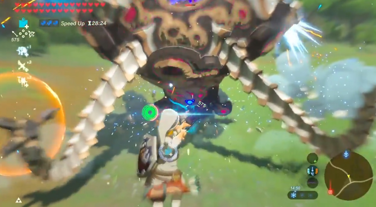 This might be the most savage Zelda: Breath of the Wild beatdown I've seen yet screenshot