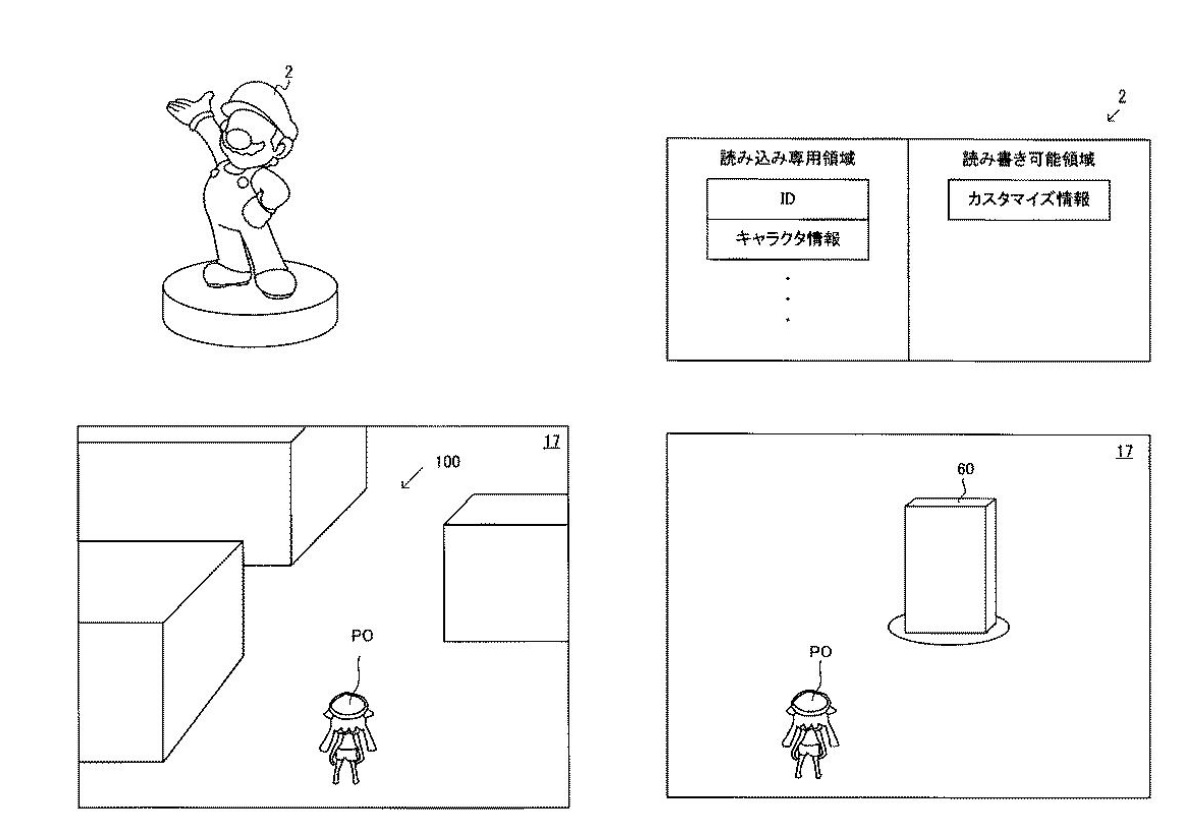 A recent amiibo patent could bring the figures back to life in a new game screenshot