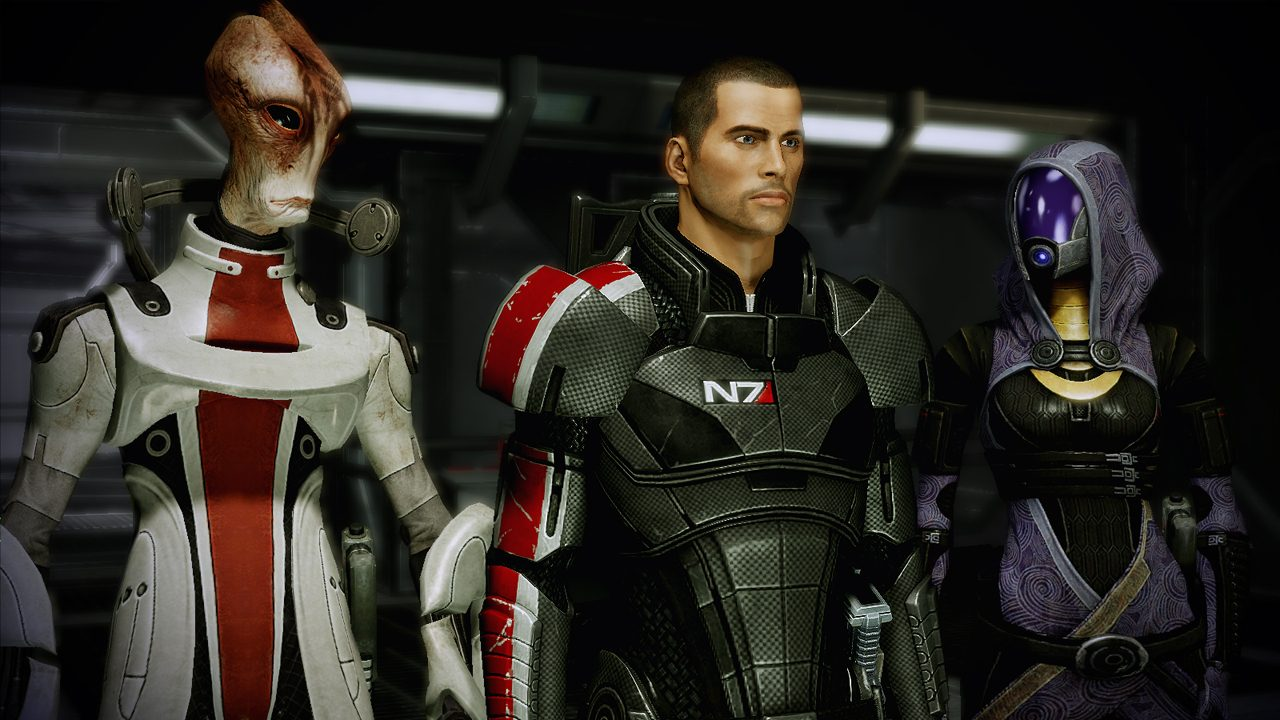 EA has four unannounced games this year, and one of them better be a remastered Mass Effect trilogy screenshot