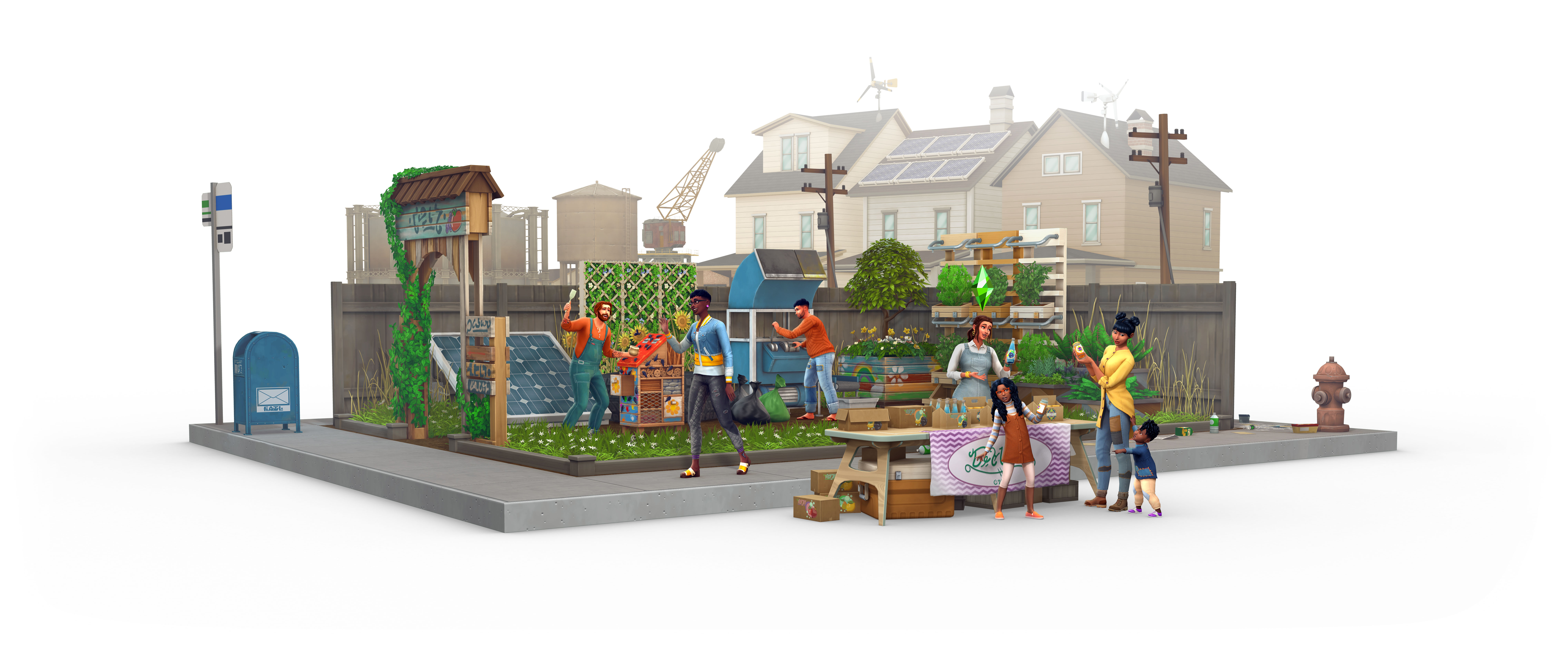 The Sims 4 goes green with the next Eco Lifestyle pack screenshot