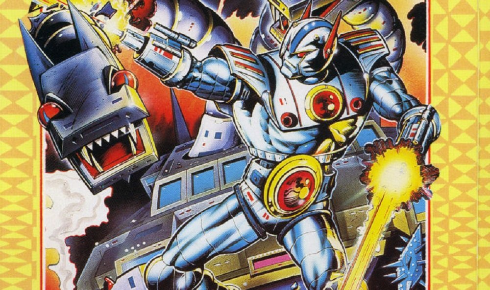 Inventive shmup MagMax is this week's Arcade Archives release screenshot