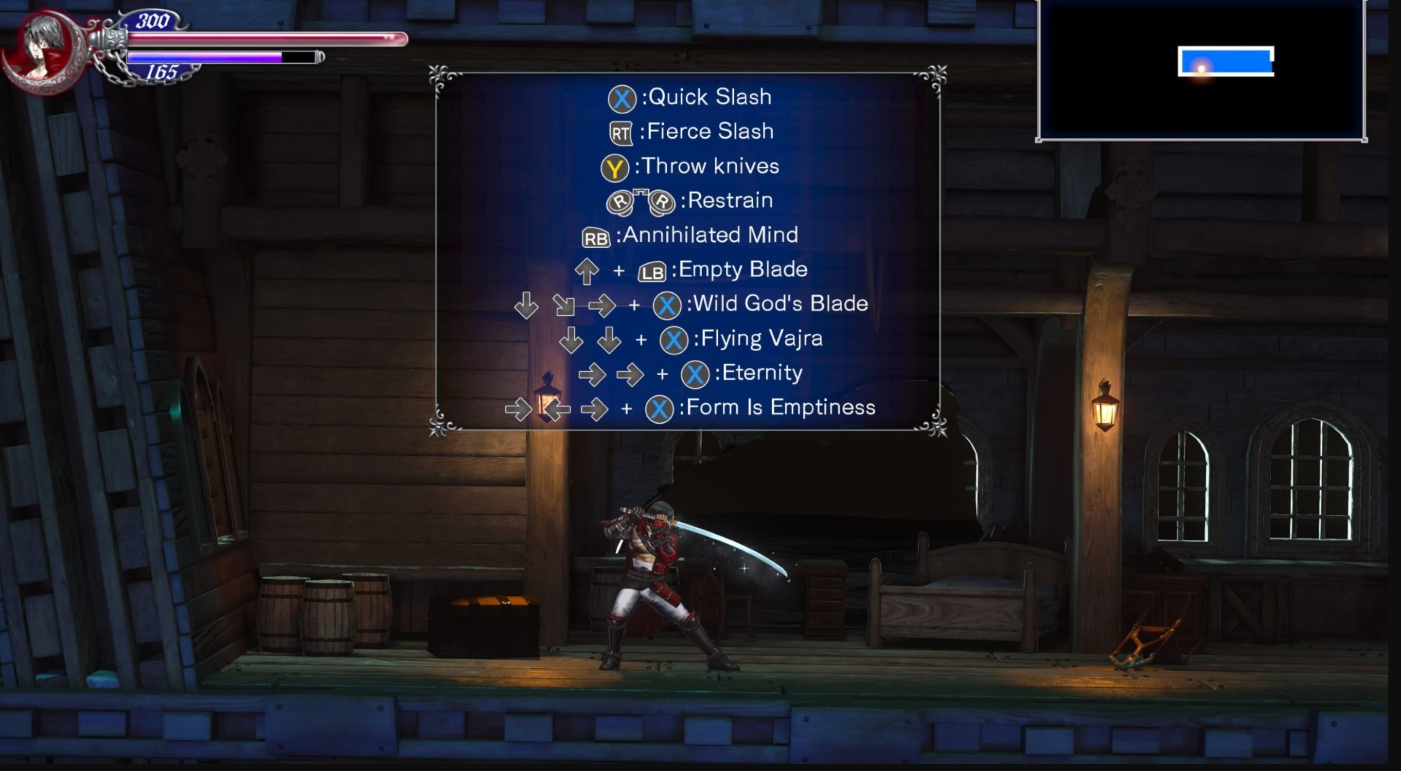 Bloodstained's Zangetsu DLC Switch window shortened to 'the end of the month' screenshot