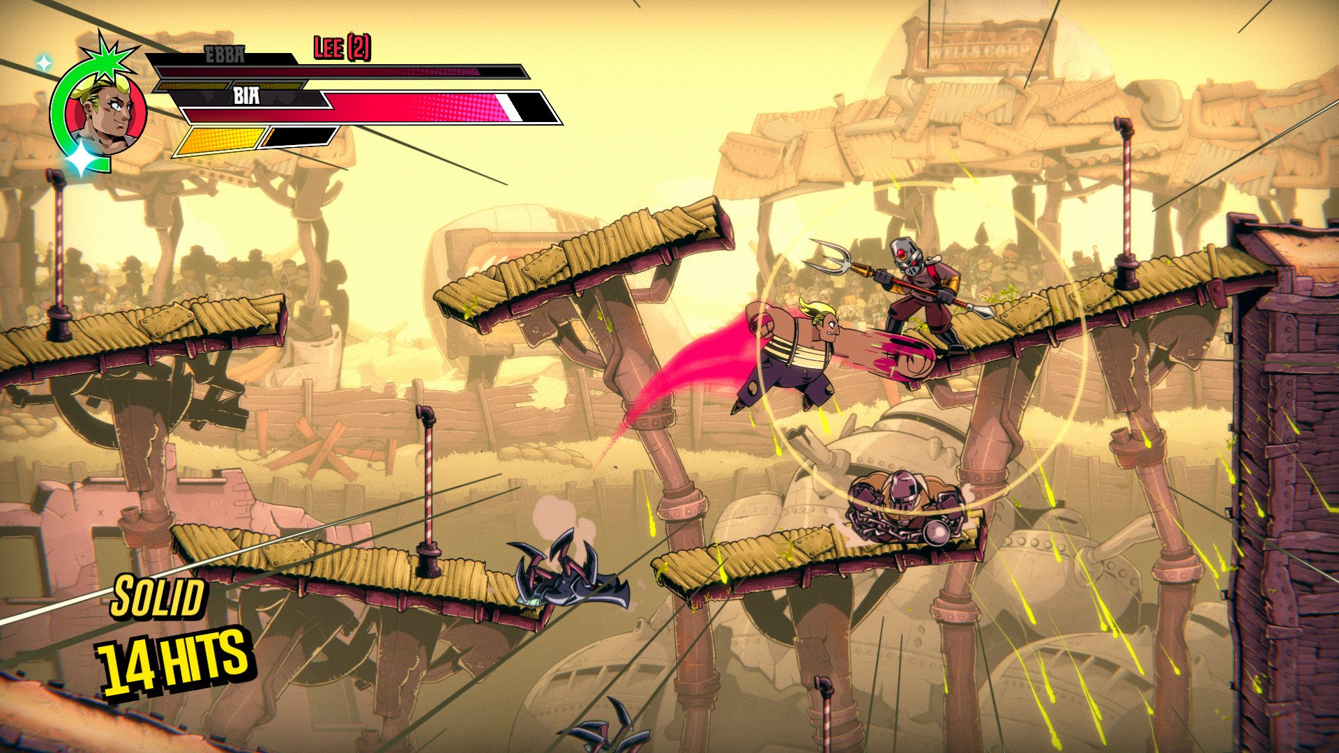 Contest: Stretch out them quads, because you're about to win a Steam copy of Speed Brawl screenshot