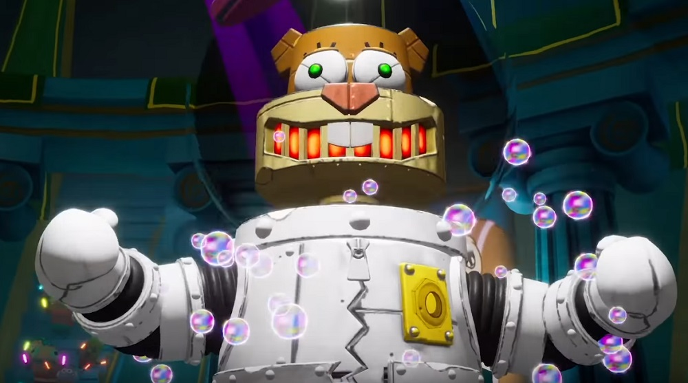 SpongeBob SquarePants takes on famous foes in Battle for Bikini Bottom trailer screenshot
