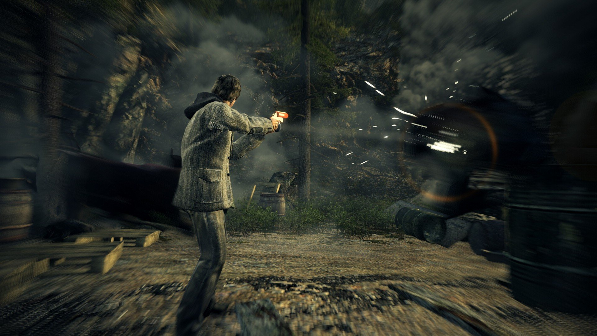 Alan Wake and his bright-ass flashlight join the Xbox and PC Game Pass library next week screenshot