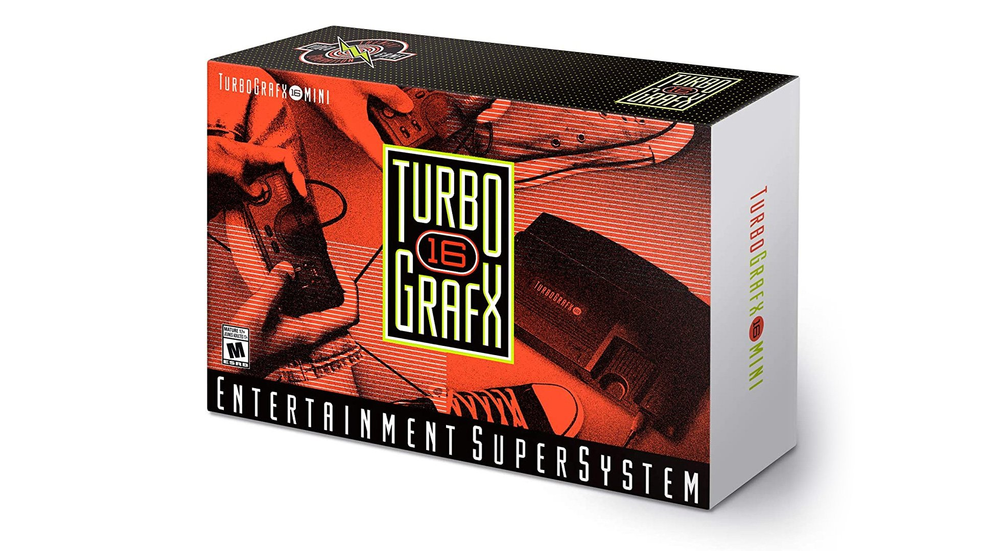 The TurboGrafx-16 Mini is shipping next week in the US screenshot