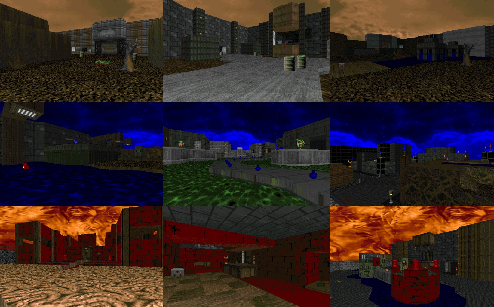 Bethesda adds new free levels to classic versions of Doom screenshot