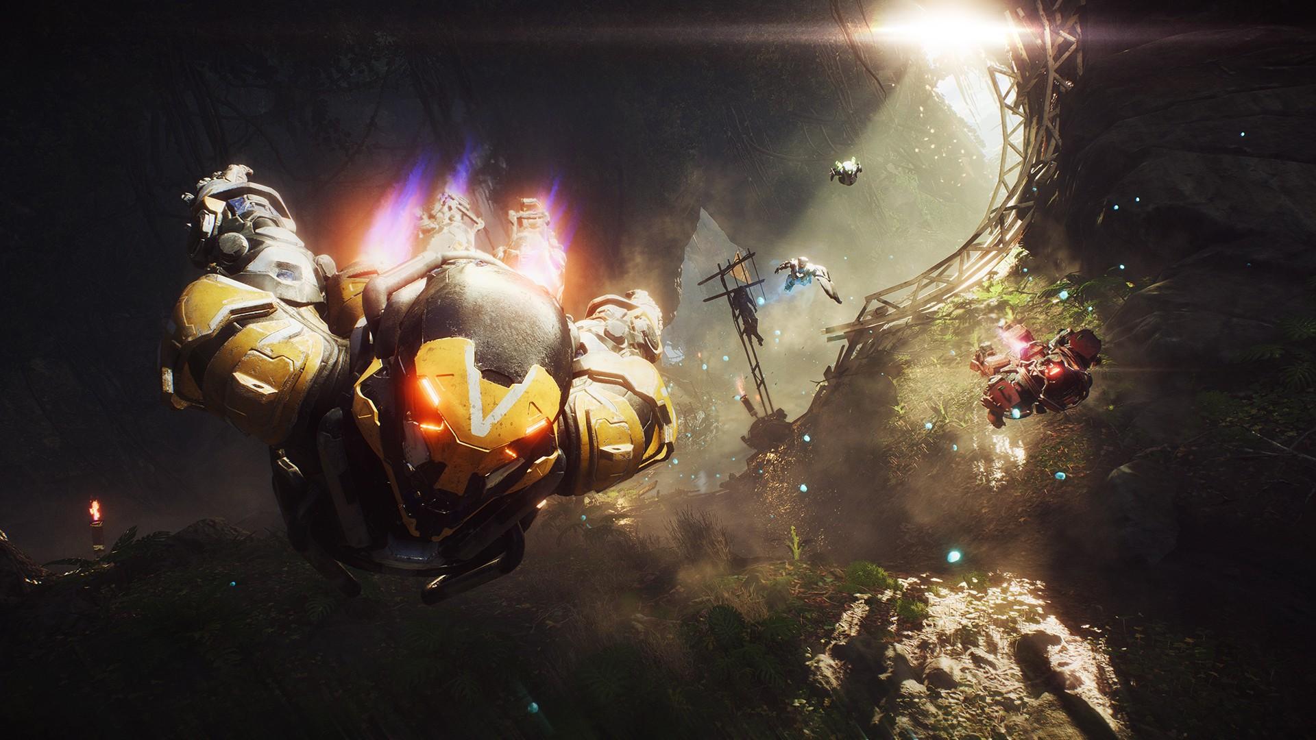 BioWare only has 30-ish people working on overhauling Anthem screenshot