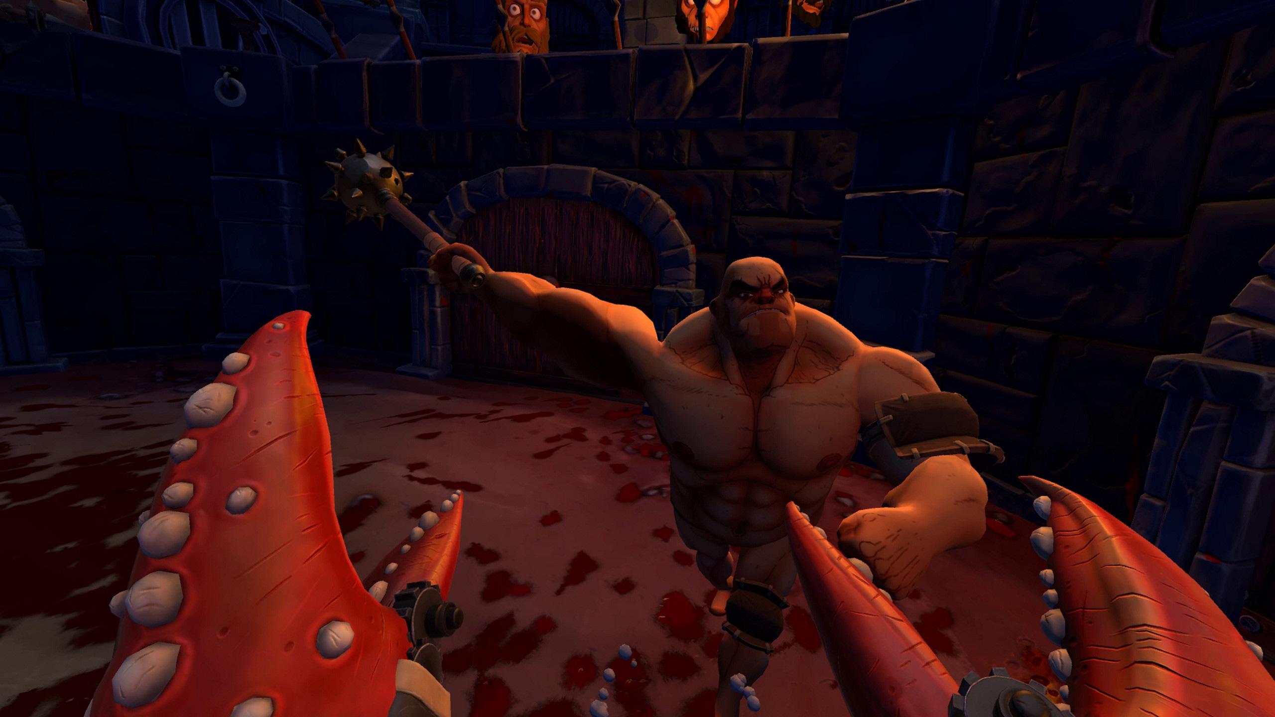 Review: Gorn (PlayStation VR) screenshot
