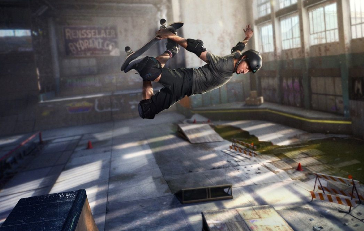 Is there a video game franchise more fun than Tony Hawk's Pro Skater? screenshot