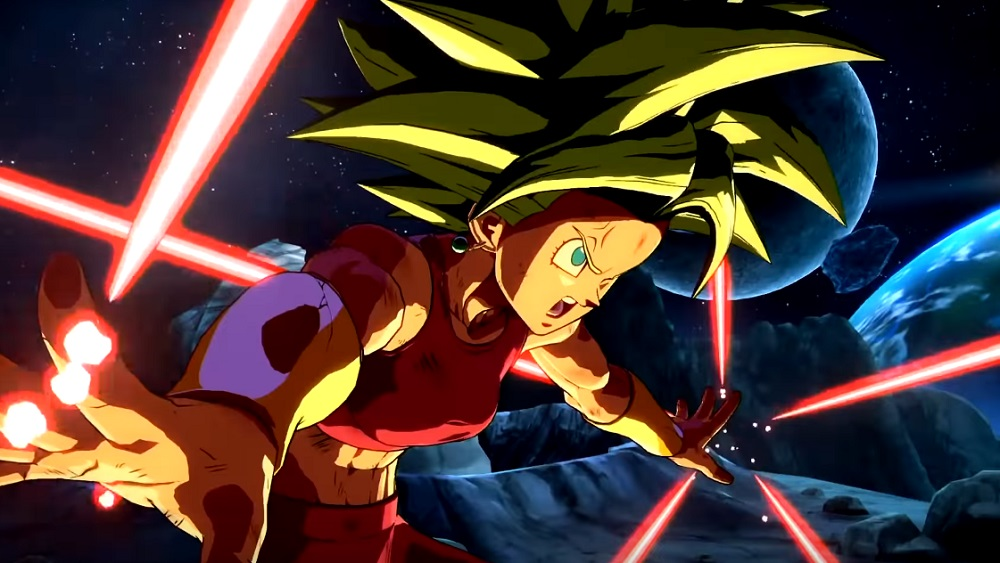 Goku and Kefla throw down in explosive Dragon Ball FighterZ trailer screenshot