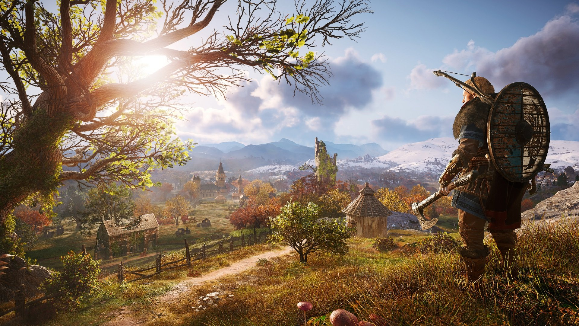 Just kidding, Assassin's Creed Valhalla is bigger than Odyssey screenshot