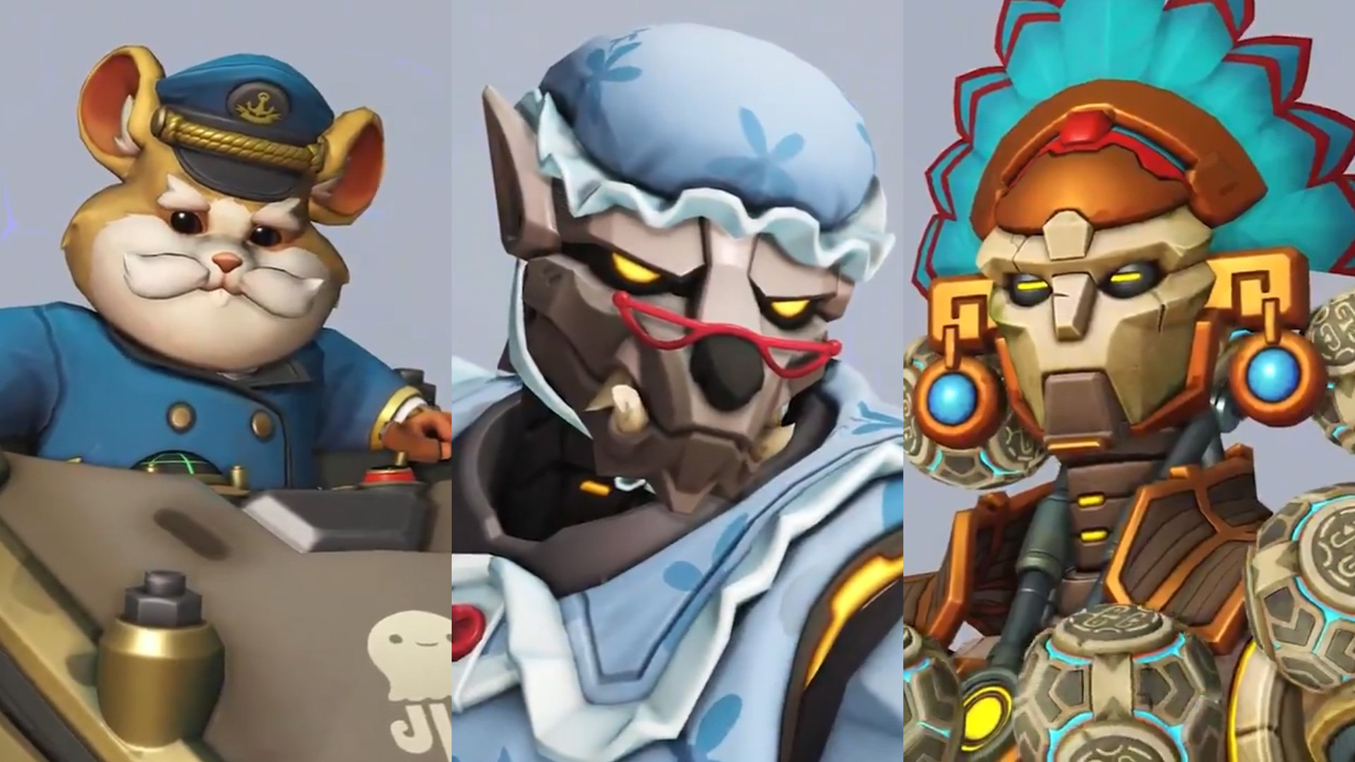 A couple of the Overwatch Anniversary 2020 skins are tempting screenshot