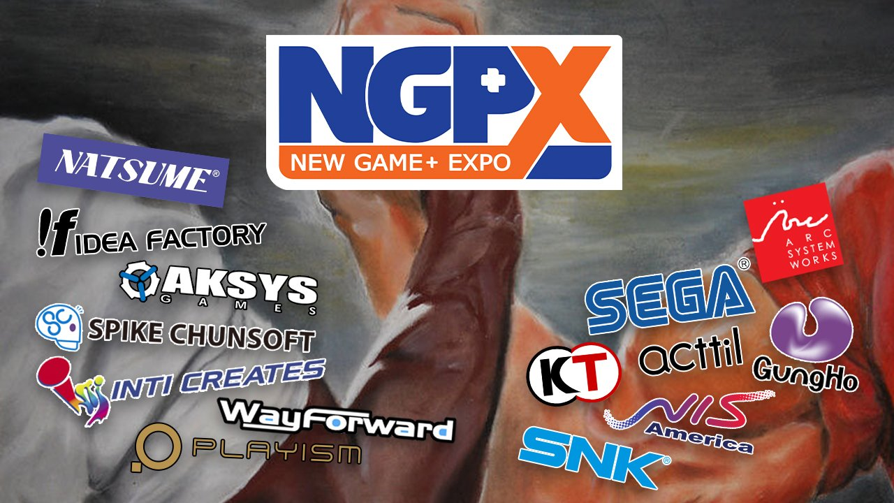 Sega, SNK, Arc System Works, and more join forces for New Game+ Expo screenshot