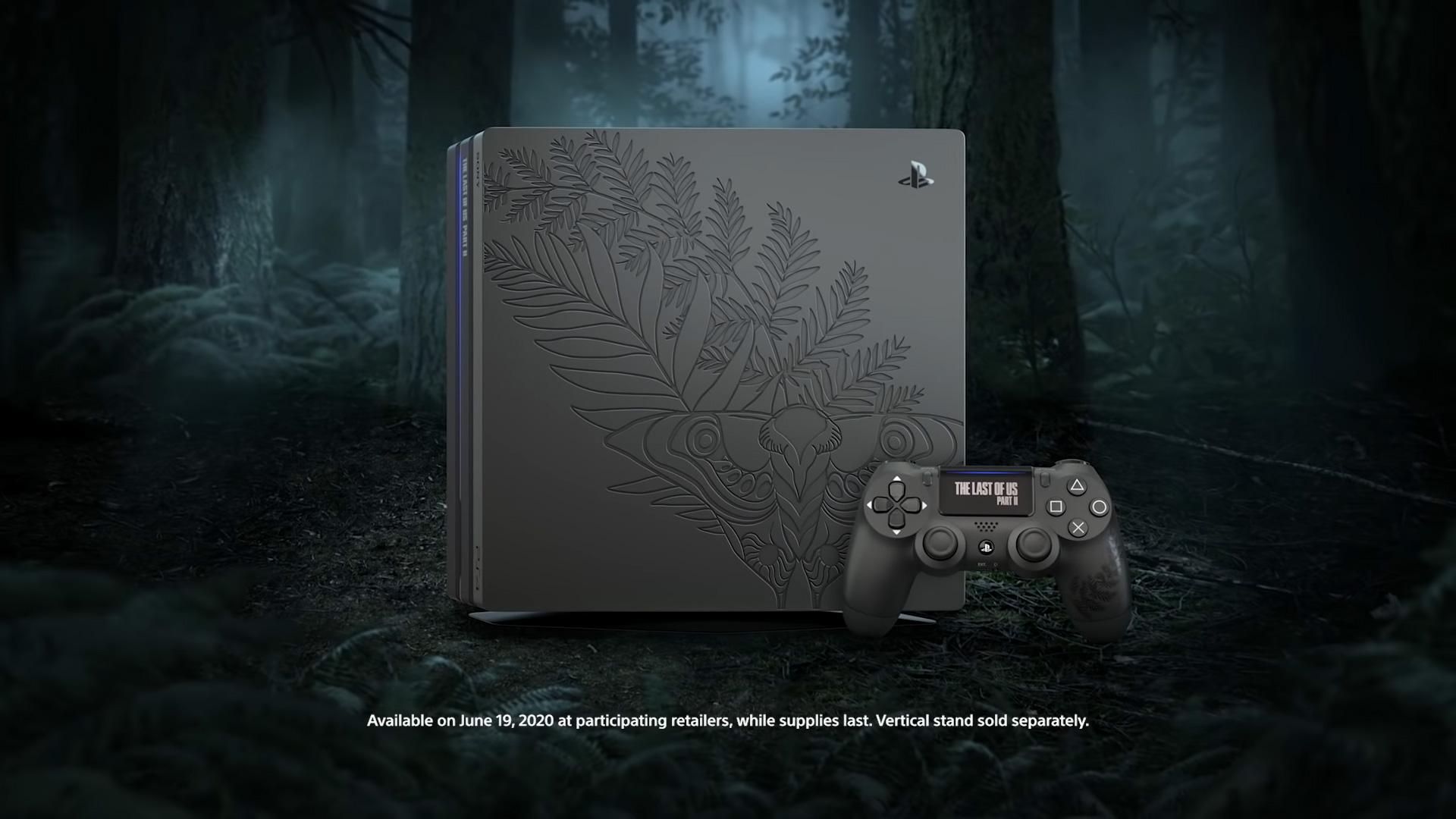 The Last of Us Part II PS4 Pro is rocking Ellie's tattoo screenshot