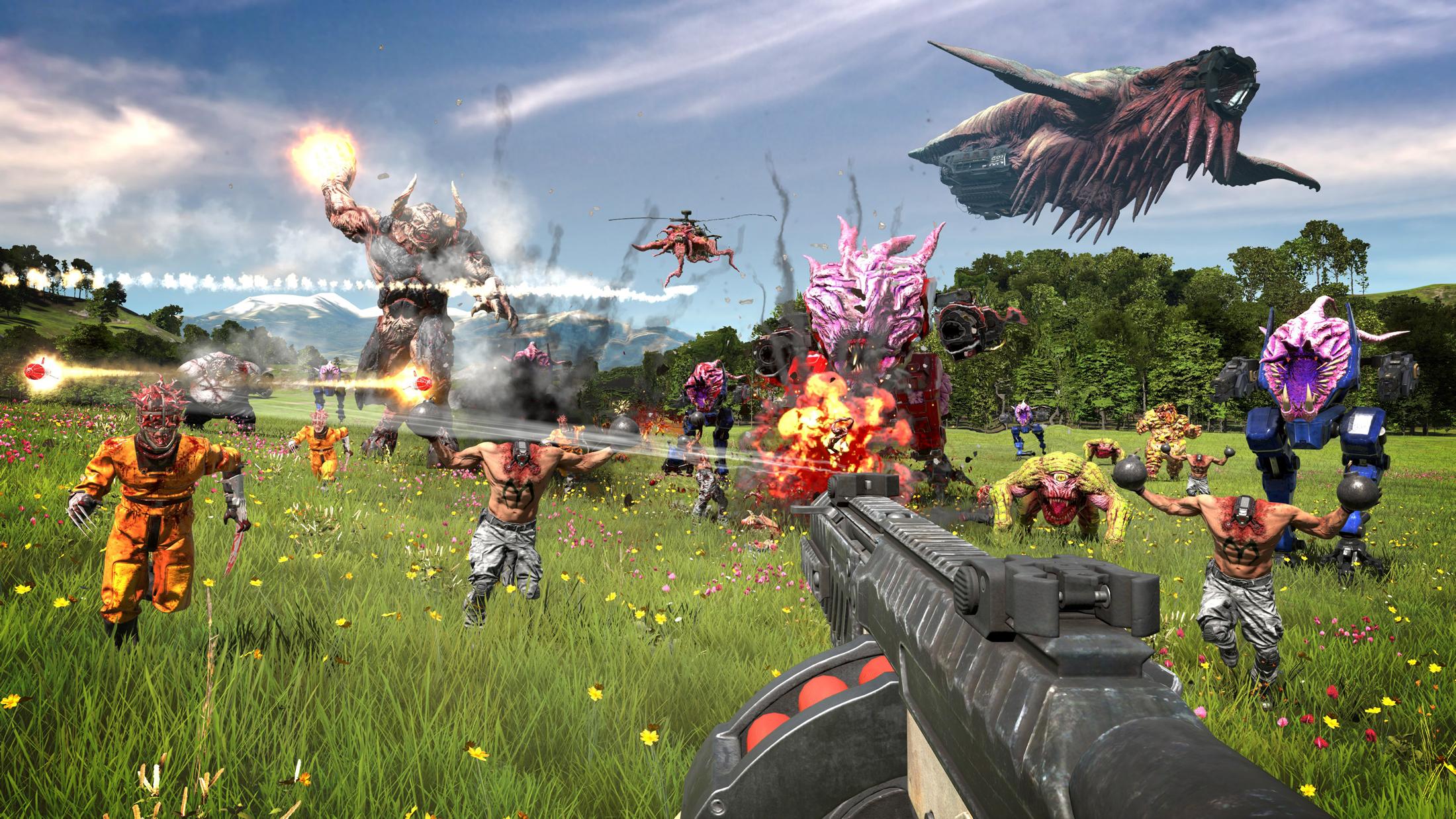 Serious Sam 4 shotguns its way onto PC and Stadia this August screenshot